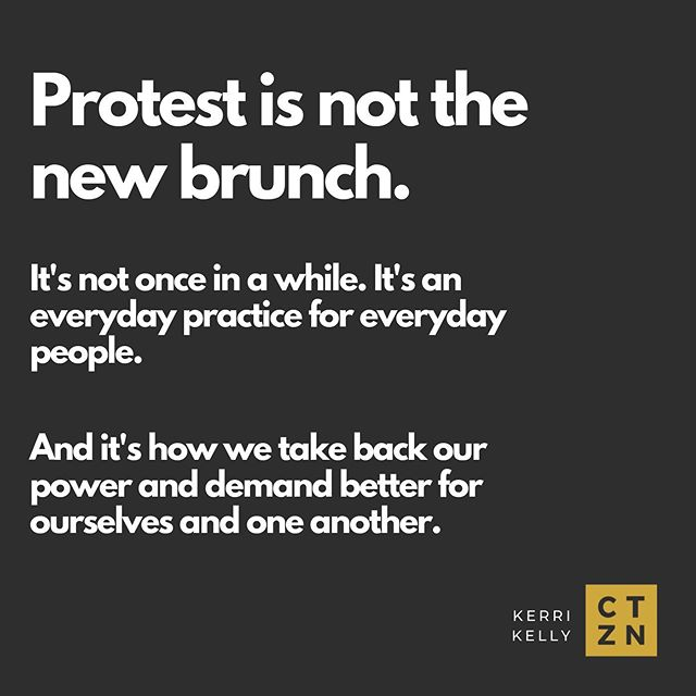 """We need more than fair-weather activism and annual protest participation. Protest is not the new brunch. It's how we take back our power and demand better for ourselves and one another. It's how we disrupt business as usual and refuse to comply. It's not once in a while. It's an ongoing, constant and sustained expression of our #sacredrage. It's an everyday practice for everyday people. And the young people are leading the way and showing us how it's done. We must keep going."" - @kkellyyoga  Actions on our radar: today's #ClimateStrike everywhere, and three coming up in DC:  #MarchForBlackWomen on 10/5  #ReclaimTheCourt on 10/6 with our friends at @VOTEPROCHOICE, @cpdaction, and @womensmarch to demand Congress #ImpeachKavanaugh  10/8 protest in DC for LGBTQ rights as the Supreme Court hears arguments on three critical workplace rights cases  Let's keep acting up.  #Protest #CivilDisobedience #Disrupt #FuckWhiteSupremacy #AntiRacism #Yoga #Mindfulness #Meditation #RadicalLove #LoveIsJustice #JusticeIsWhatLoveLooksLikeInPublic #YogaEveryDamnDay #SpiritualActivism #RacialJustice #Wellbeing #Wellness #LoveAndLight #Citizenship #Practice"