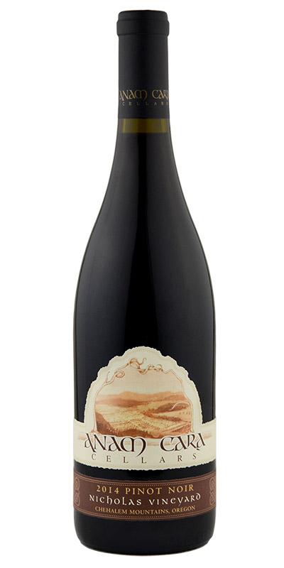 2014 Nicholas Vineyard Pinot Noir  Download JPG   Download PNG