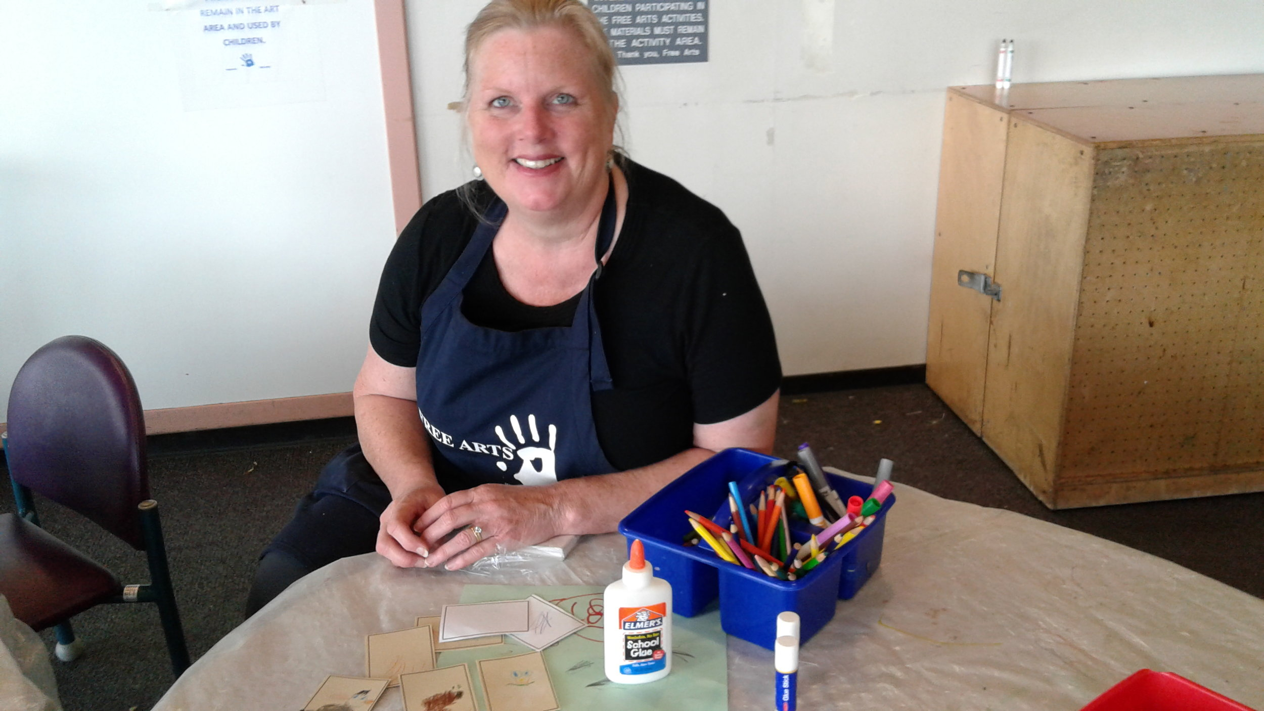 Kerrin, volunteer mentor at the Courthouse Program.