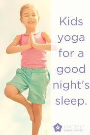 Kids Nighttime Yoga: Tuesday, 7/11 @ 7:00pm