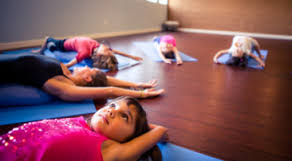 Nighttime Kids Yoga: Tuesday night @ 7pm