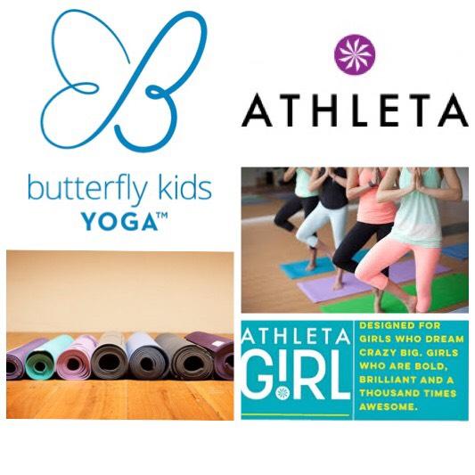 Girls Yoga @ Athleta + Private Shopping — Butterfly Kids YOGA