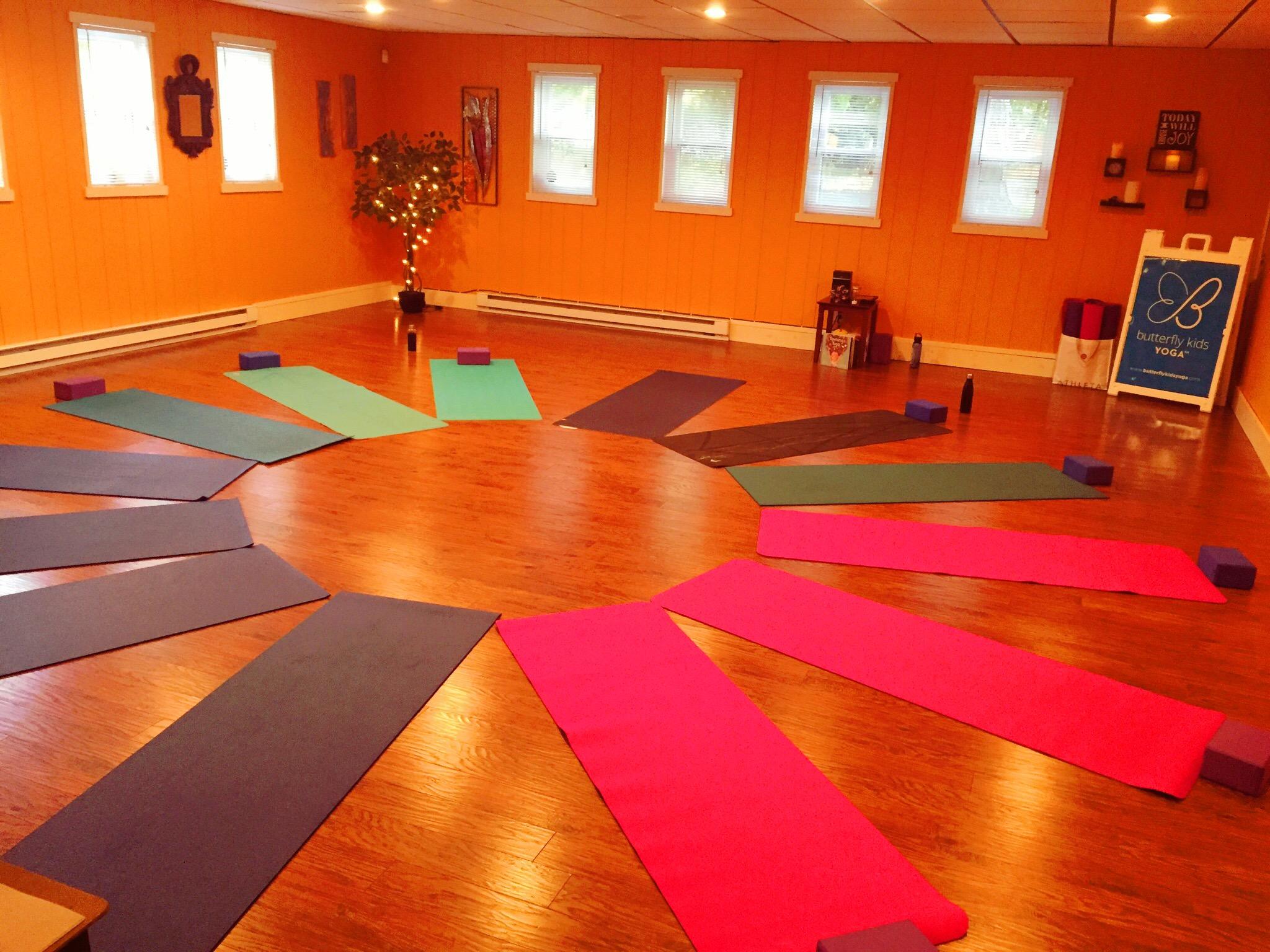 Kids Yoga (ages 5-12): 6:00pm