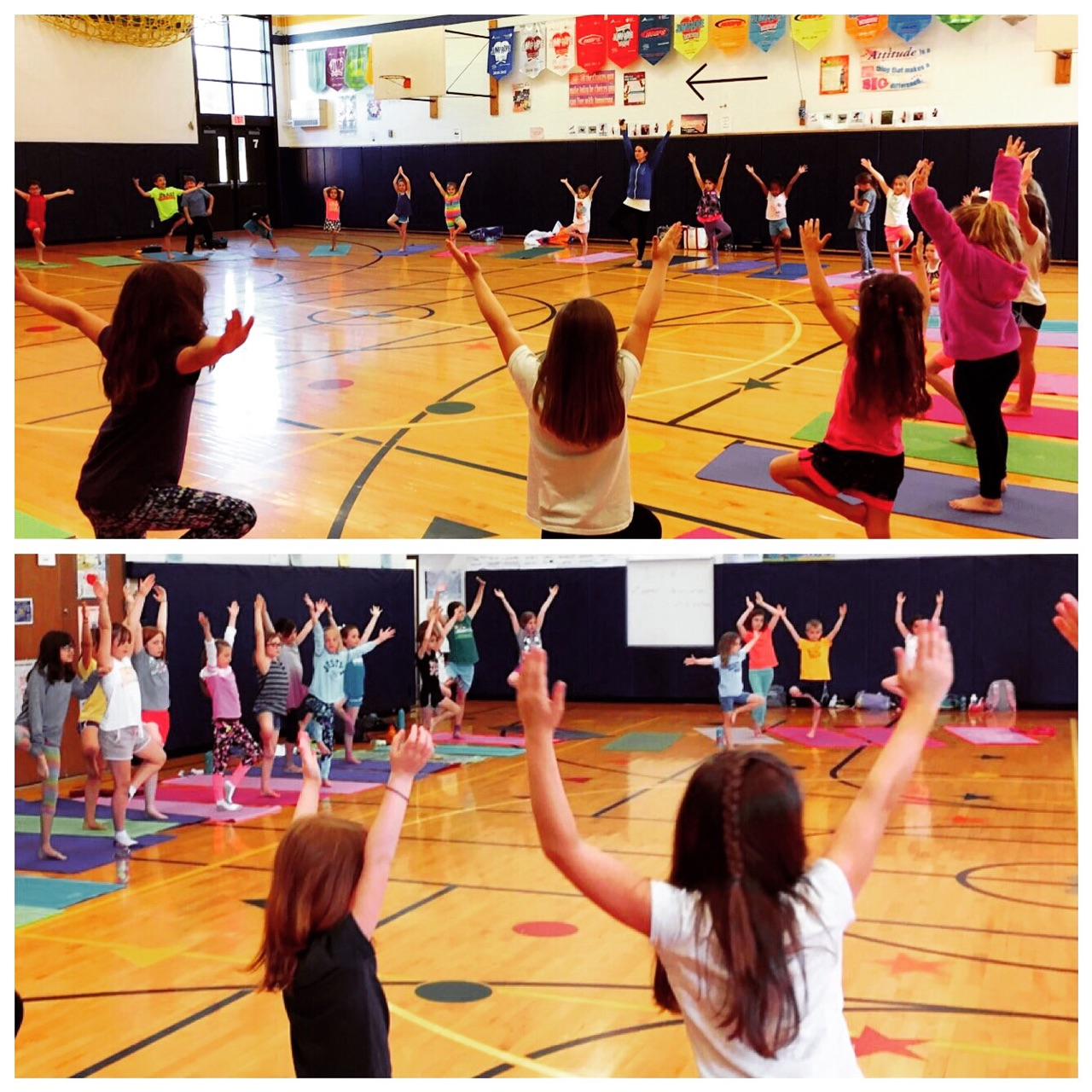 Butterfly Kids Yoga's school program in Webster, NY. Big thanks to Plank Road South for the opportunity to lead after-school Yoga Club sessions this spring!