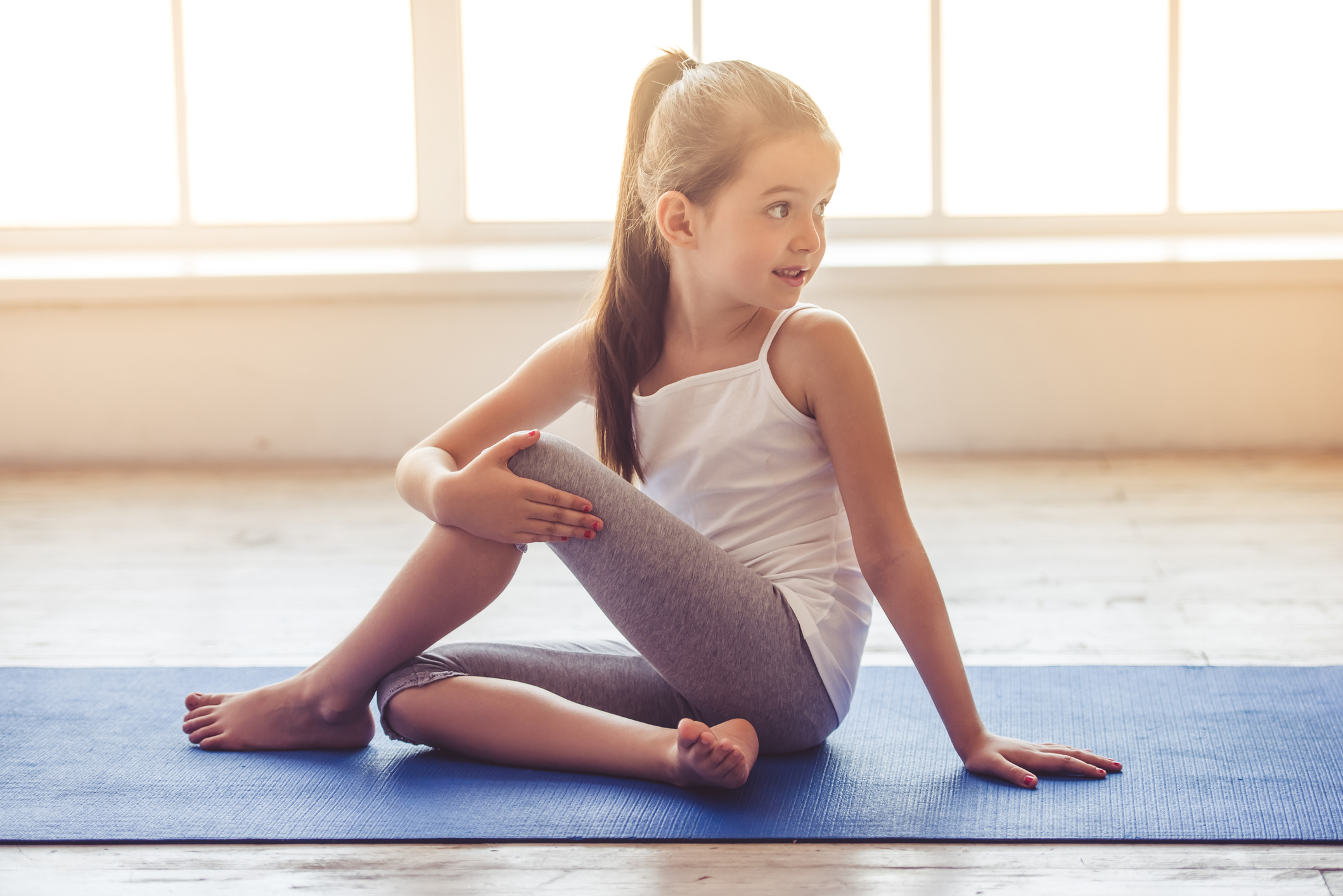 Yoga for Your Kids.  - Tuesdays @ 6PM with Butterfly Kids Yoga.