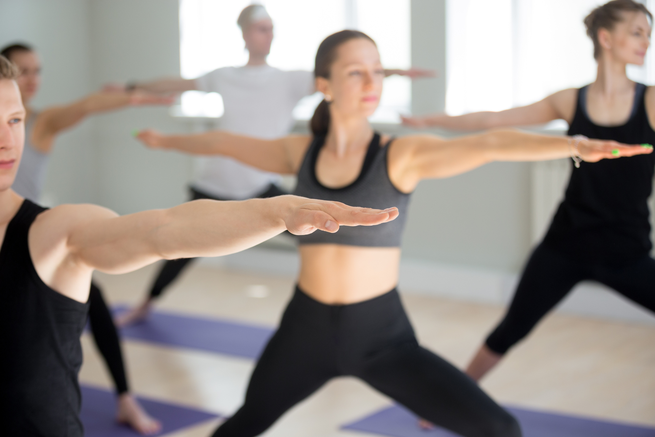 Adult studio classes - Tuesdays 6PM. This week (8/14) enjoy an active vinyasa class with Heidi Rasmussen. Suitable for all levels. View schedule.