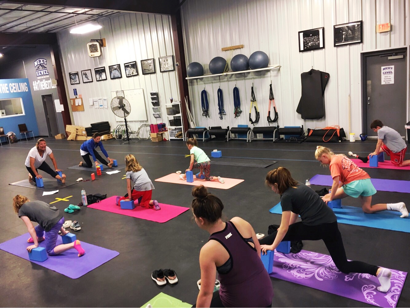 Yoga for Athletes - Sundays @ 4PM (youth) and 5PM (teen and adult).