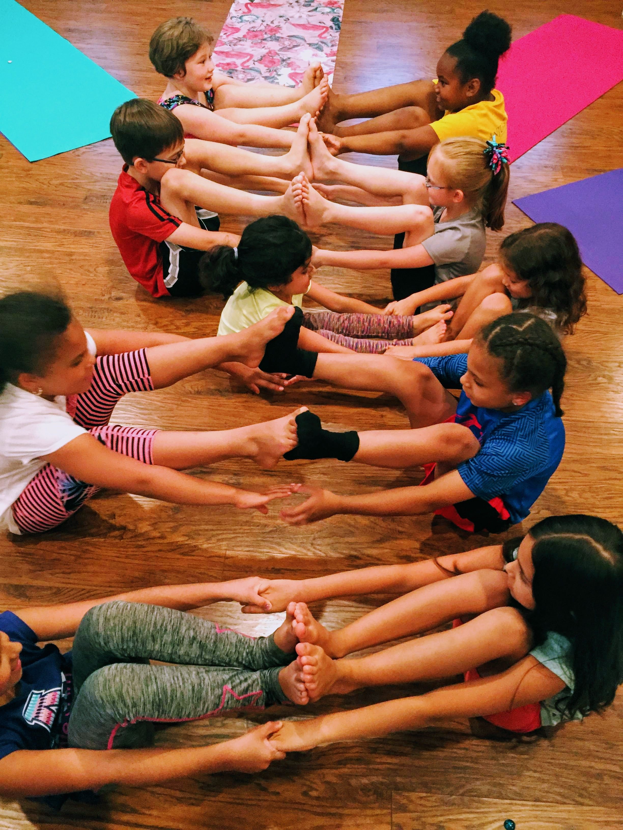 Yoga for 5-12 yr olds -