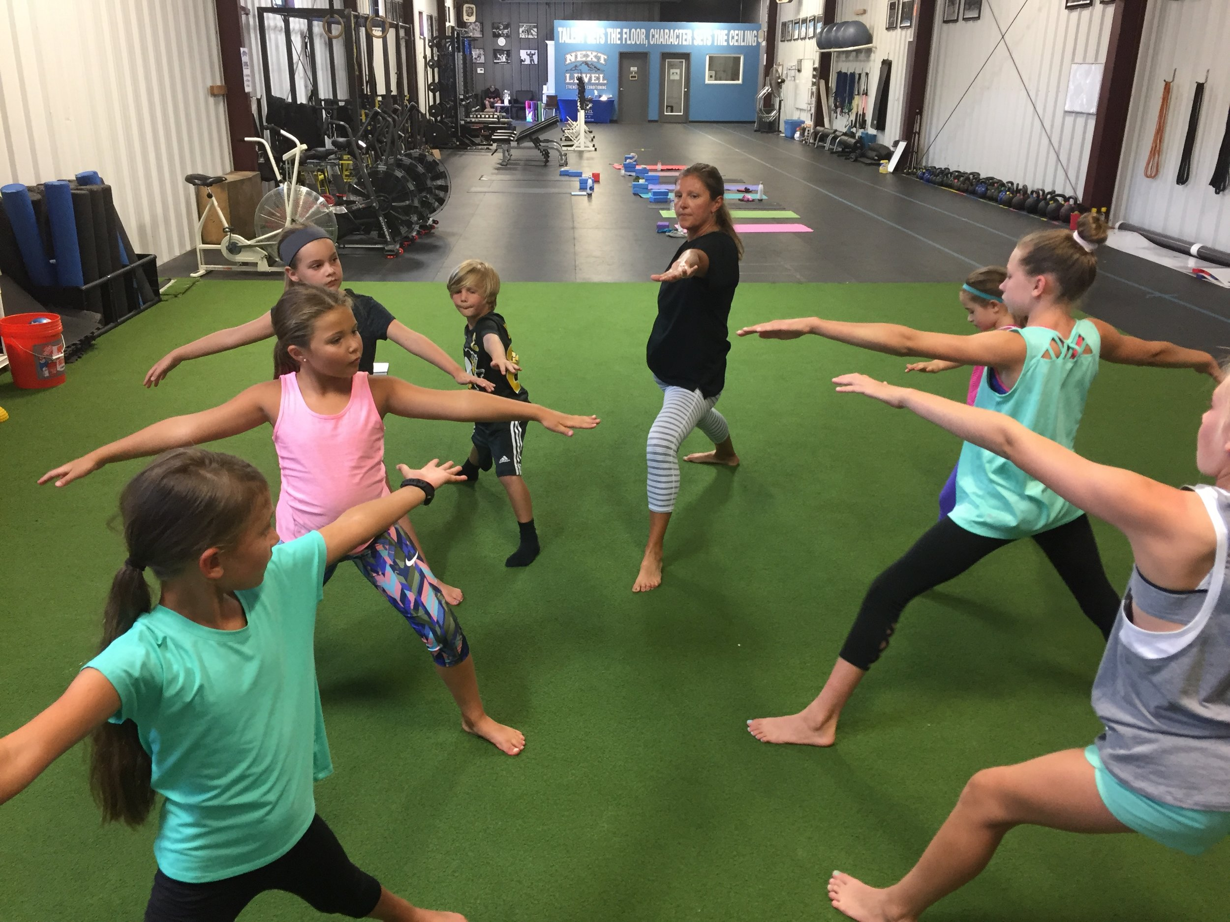 Yoga for Athletes (youth) - Sunday, 9/16 @ 4PM. Awesome class led by 2 certified instructors. Mobility, flexibility, strengthening, breath work and more for youth athletes (ages 8-13). Enroll here.