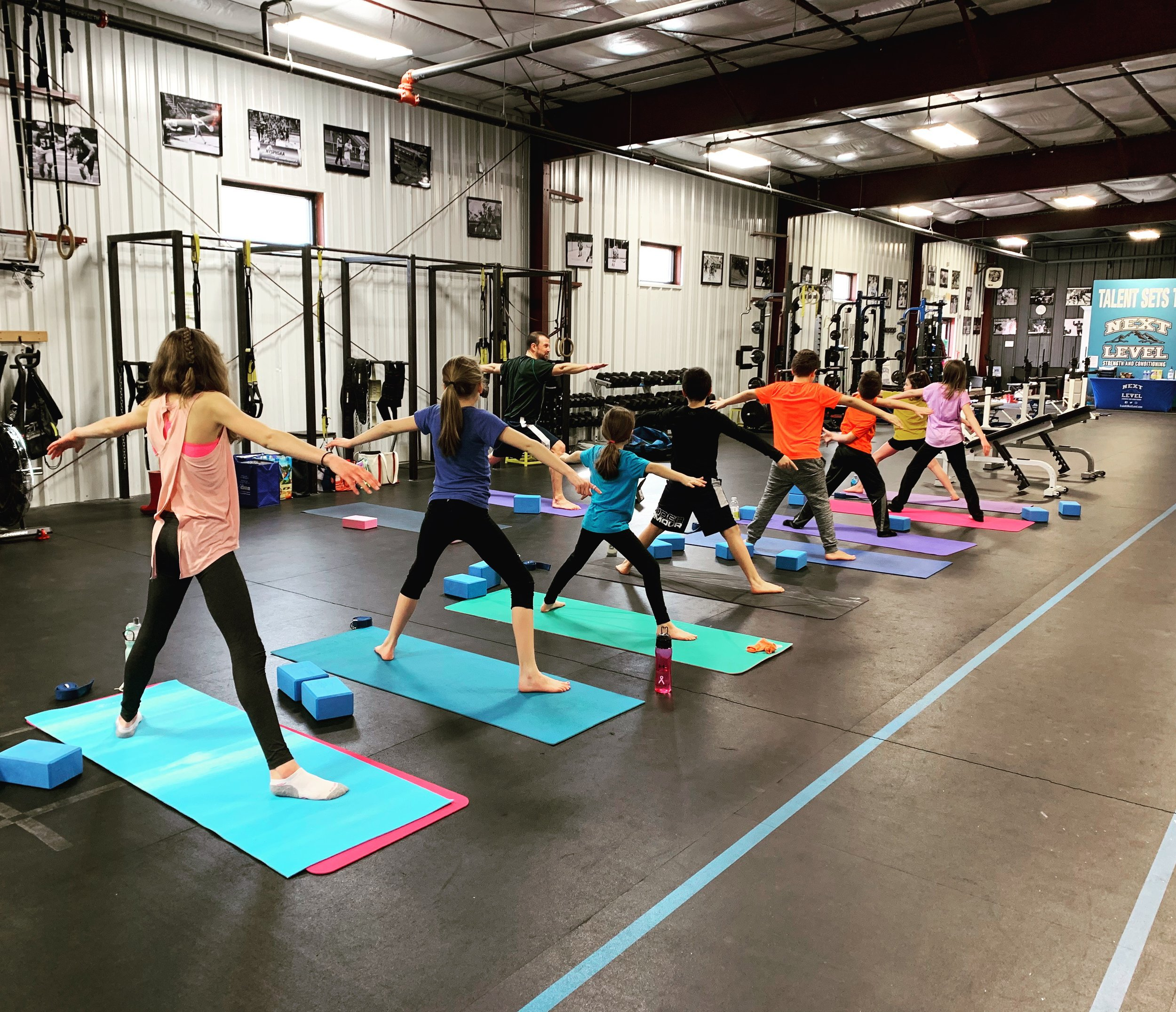 Sunday afternoon Yoga for Athletes class — weekend yoga to prep us for the week ahead!