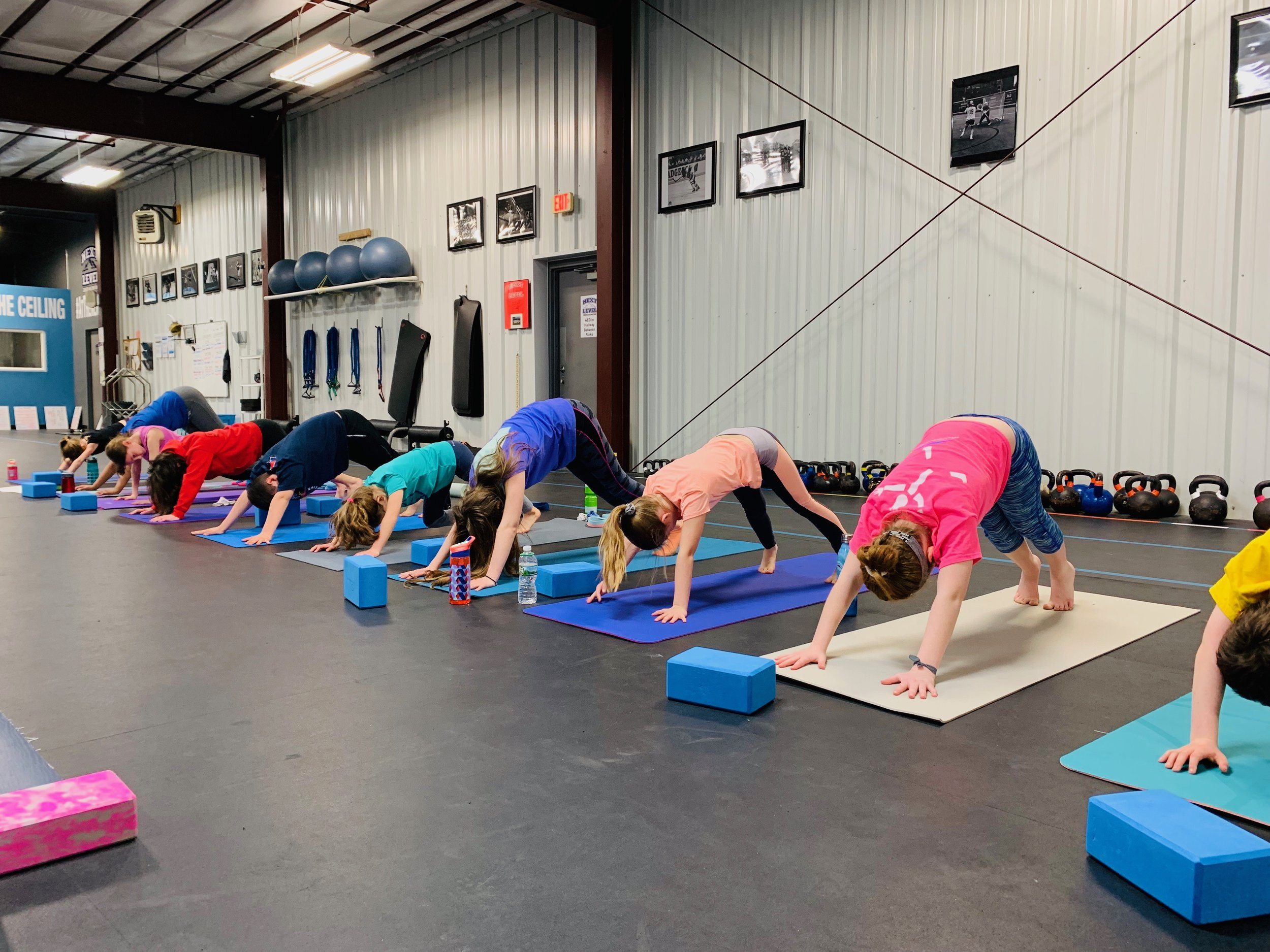 Yoga for Athletes class — hello stretching and better flexibility!