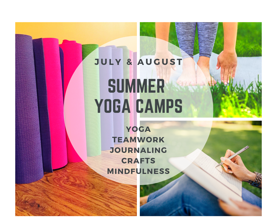 One Yoga Camp in  July (Victor) . One Yoga Camp in  August (Fairport) . Both amazing summer experiences.  Enroll here .