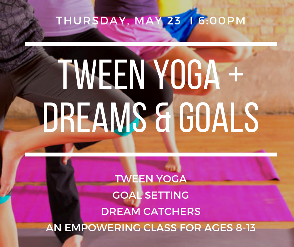 An evening focused on reaching for our goals and dreaming big!  Learn more and enroll here .