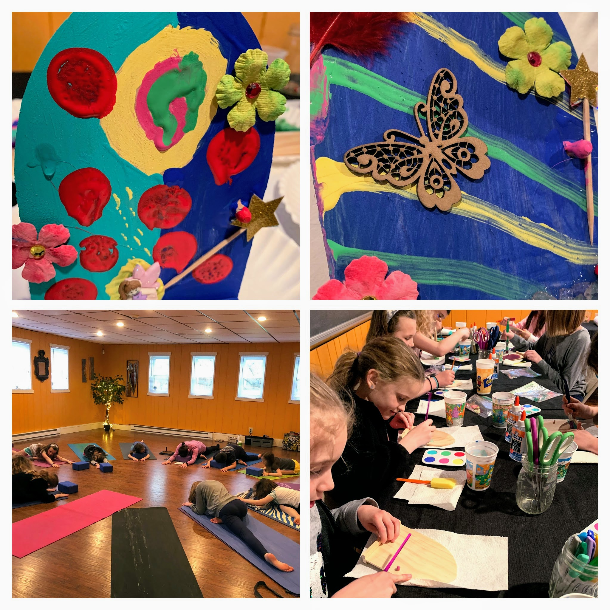 Tween Yoga + Workshop . Refreshing yoga class + making our own Garden Fairy Doors. Celebrating all things nature!