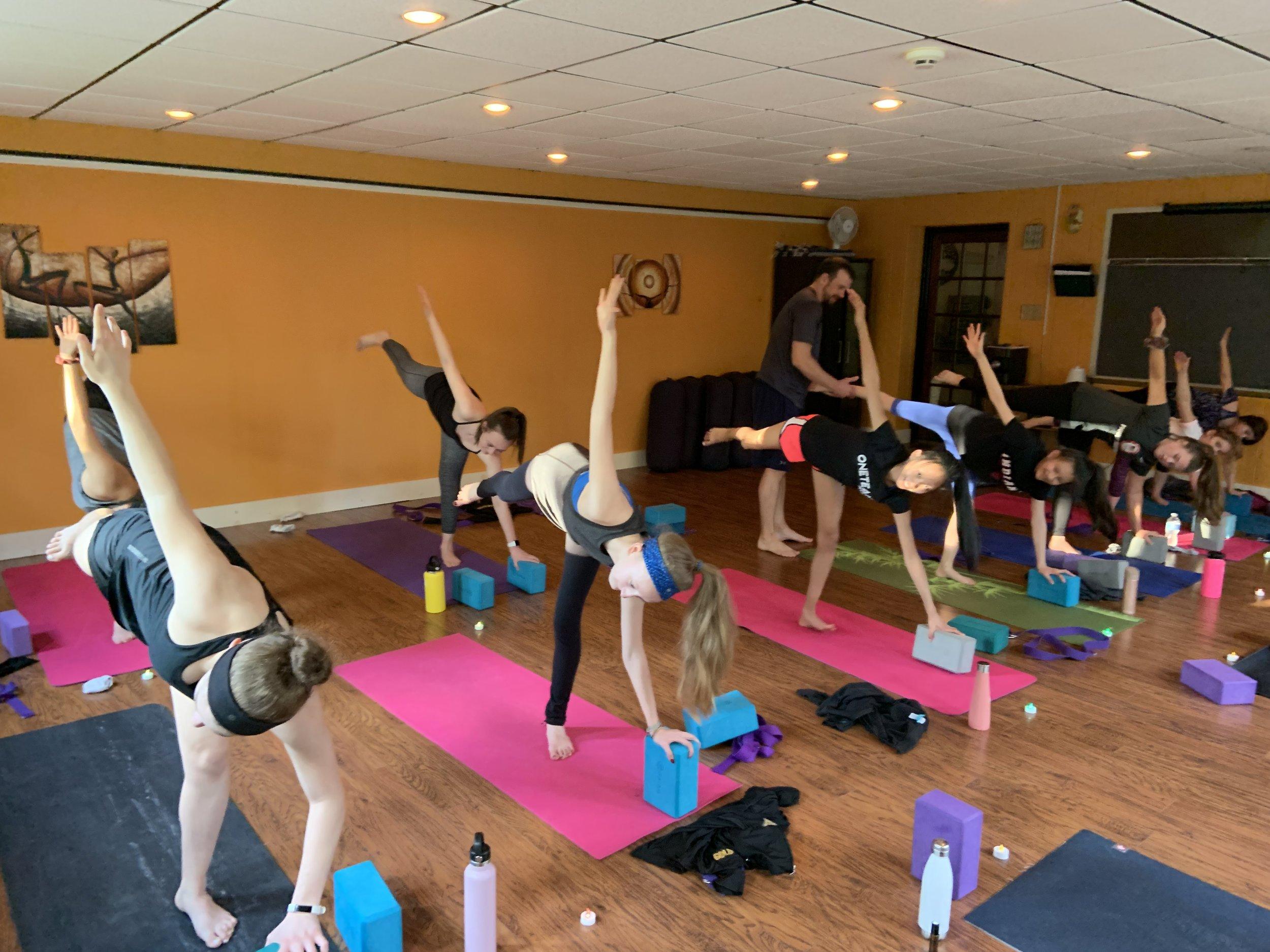 Young yogi, amazing balance!