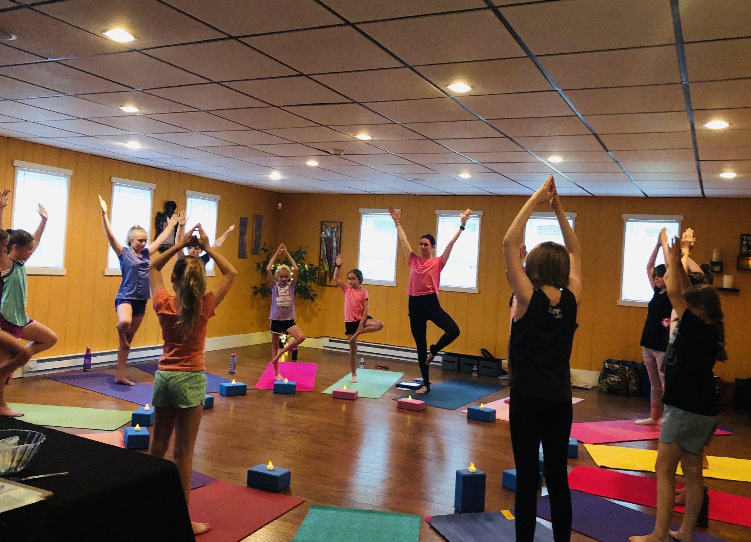 Tween Yoga + Spa Night!