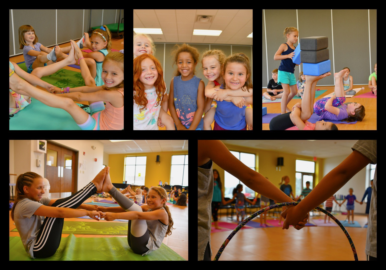Yoga teamwork! A great way to build connection and trust — in a really fun way!