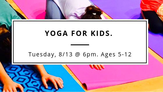 An engaging and fun kids yoga class that balances active and calm.  Click to enroll .