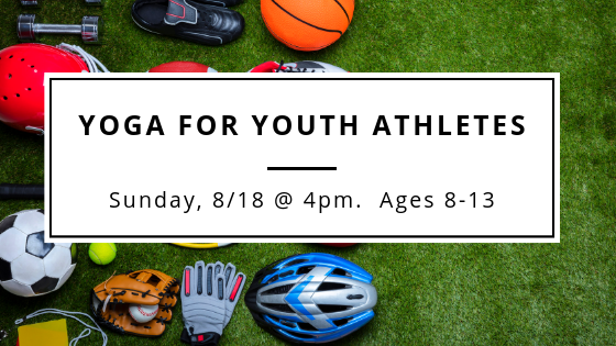 A great class to compliment youth sports. Stretching, mobility work, flexibility and focus.  Click to enroll.
