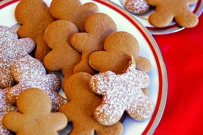 Meredith's Gingerbread Cookies  at  Clevery Simple
