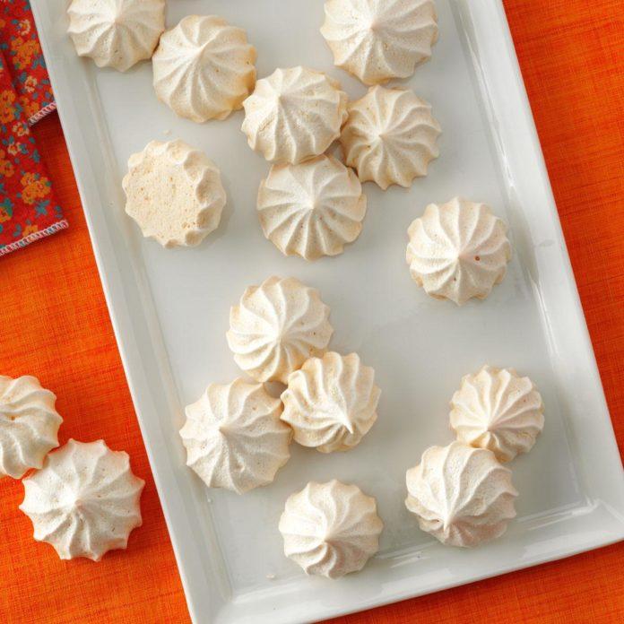 Vanilla Meringue Cookies  from  Taste of Home