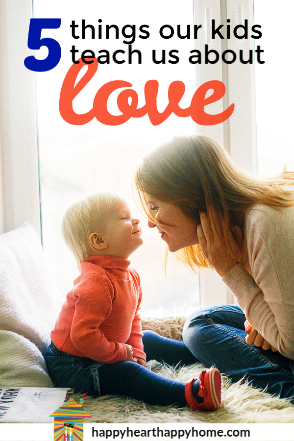 There's something extra special about the love between a parent and child. It's not always pretty and perfect; it's real and raw and a reminder of what real love is about. >> http://www.happyhearthappyhome.com/blog/2019/2/1/5-things-our-kids-teach-us-about-love