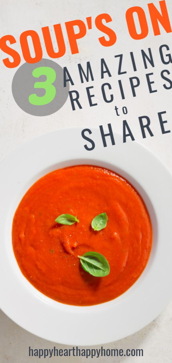 How to Host a Soup Swap - Here's how to plan, prep and host a soup swap with friends and family! Plus, three amazing soup recipes to try. >>  http://www.happyhearthappyhome.com/blog/2018/12/14/how-to-host-a-soup-swap