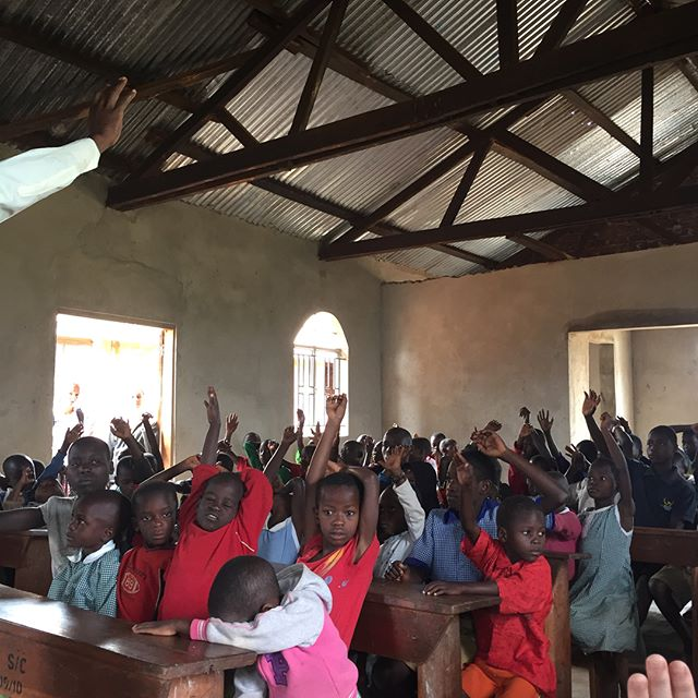 Today we went to a government school and spent some time with the children in Buwundo.  We shared The Word and encouraged the teachers.  It was a good day. #teachersonmission #thesanyucollective #teacherswithpurpose