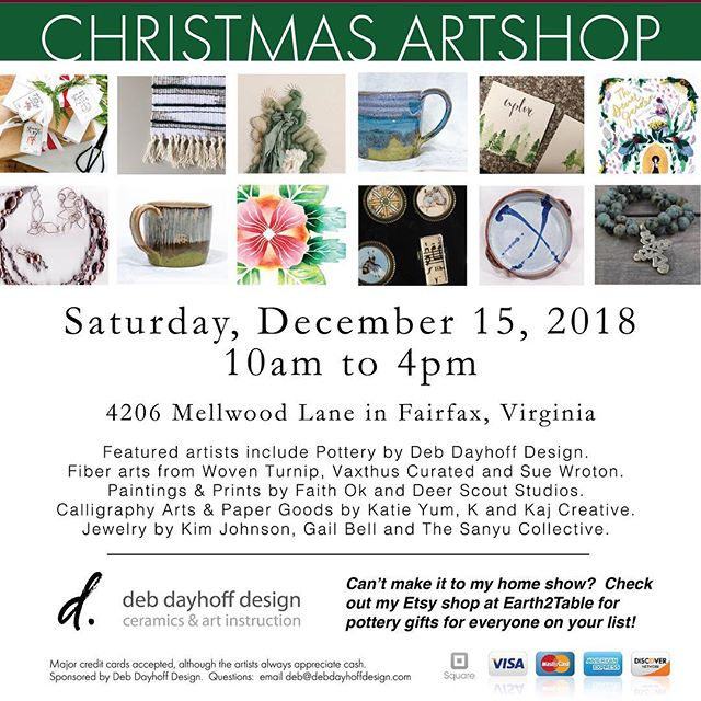 If you are looking for some unique Christmas gifts, come visit me at the Christmas Artshop in Fairfax next weekend.  Lots of pretty Sanyu on its way!  #thesanyucollective #purchasewithpurpose #buysmall #joythruawearness