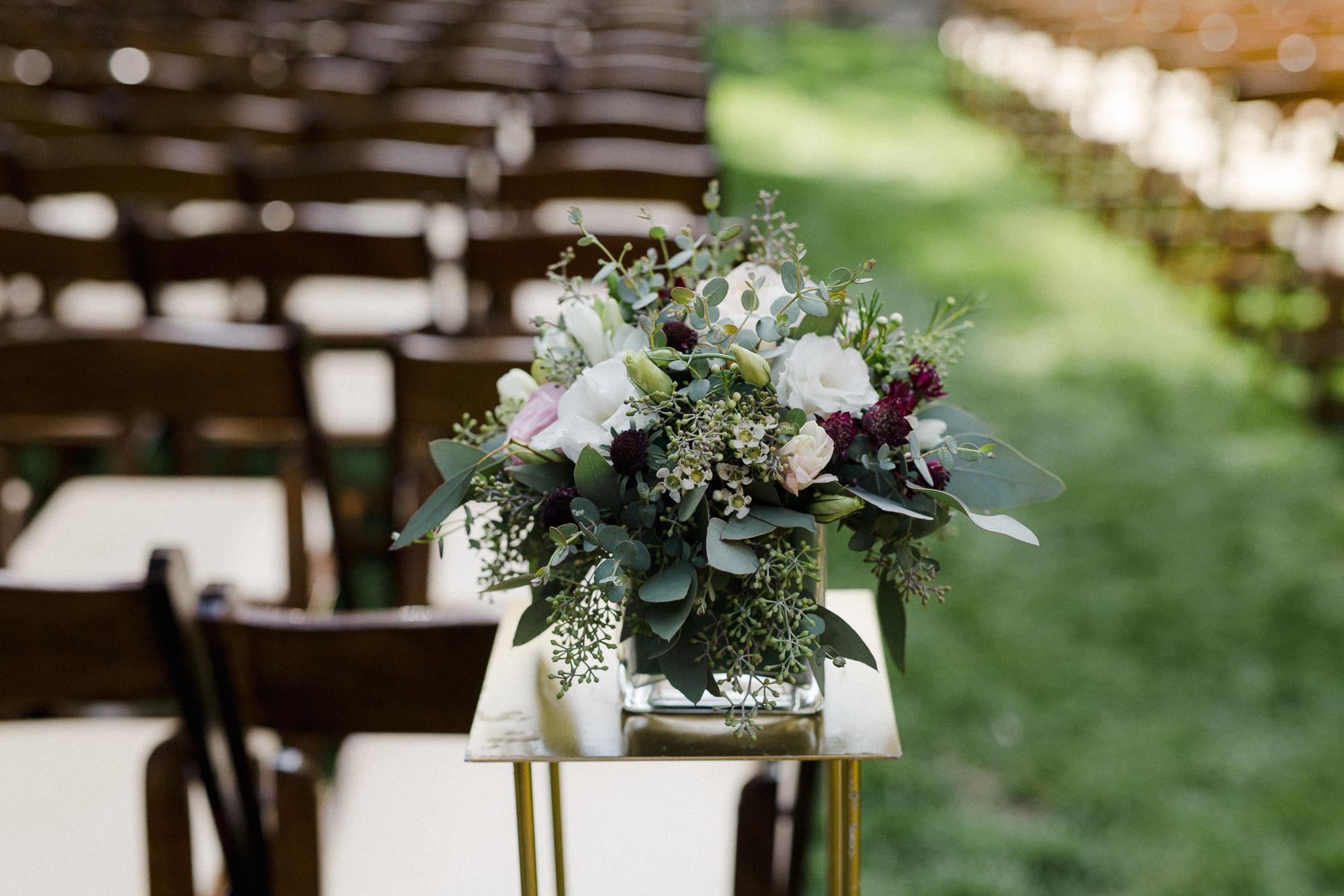 Ceremony Floral Arrangement.