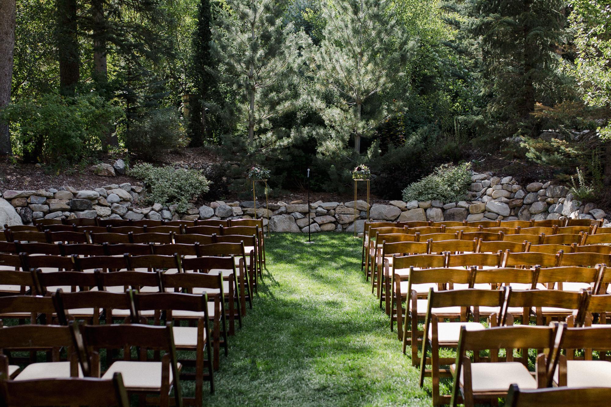 Sundance Resort Wedding Ceremony.