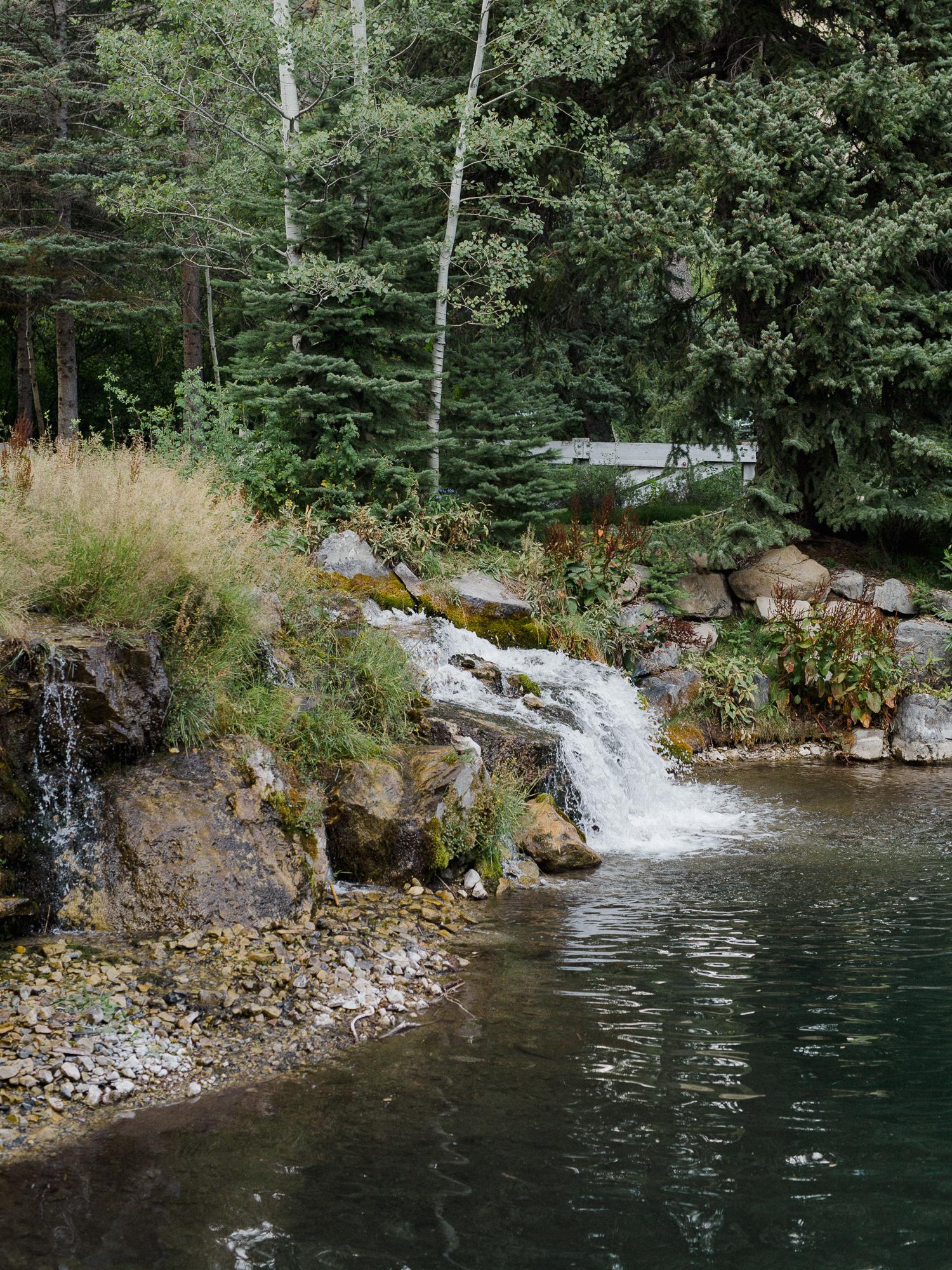 Sundance Resort Pond.
