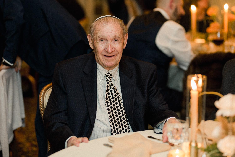 grandfather-wedding-reception
