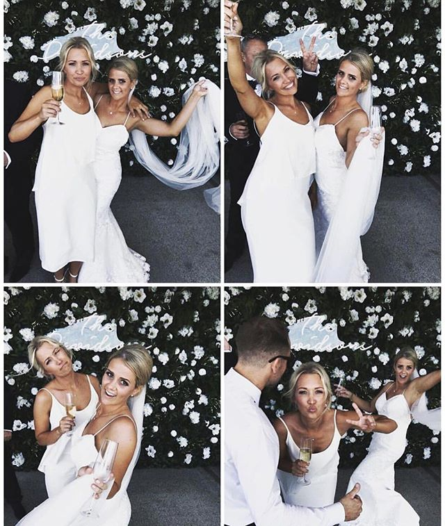 S Q U A D G O A L S 👯💍👏🏻 Nothing's better than a bride and her bridal squad hitting the Selfie Station 🙌🏻💓 @haakaanz . . . . #photobooth #nzbride #aucklandevent #wedding #party #weddingparty #celebration #bride #groom #bridesmaids #nzwedding #nzbrideandgroom #love #weddingdress #weddinggown #weddingcake #engaged #eventplanner #eventsauckland #aucklandpr #newzealandbusiness #weddingday #flowers #celebrate #instawed #instawedding #party #realtalk
