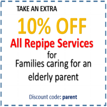 Families caring for elderly parents