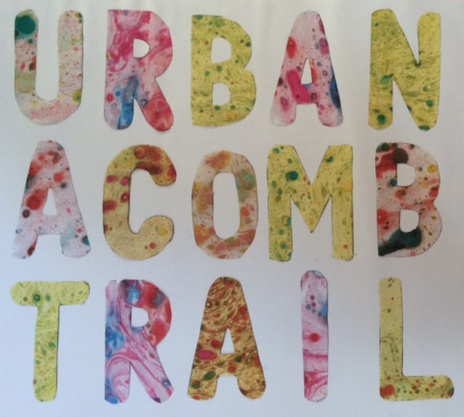 Image, designed by learners, and used in the trail leaflet for ADAM festival (July 2016)