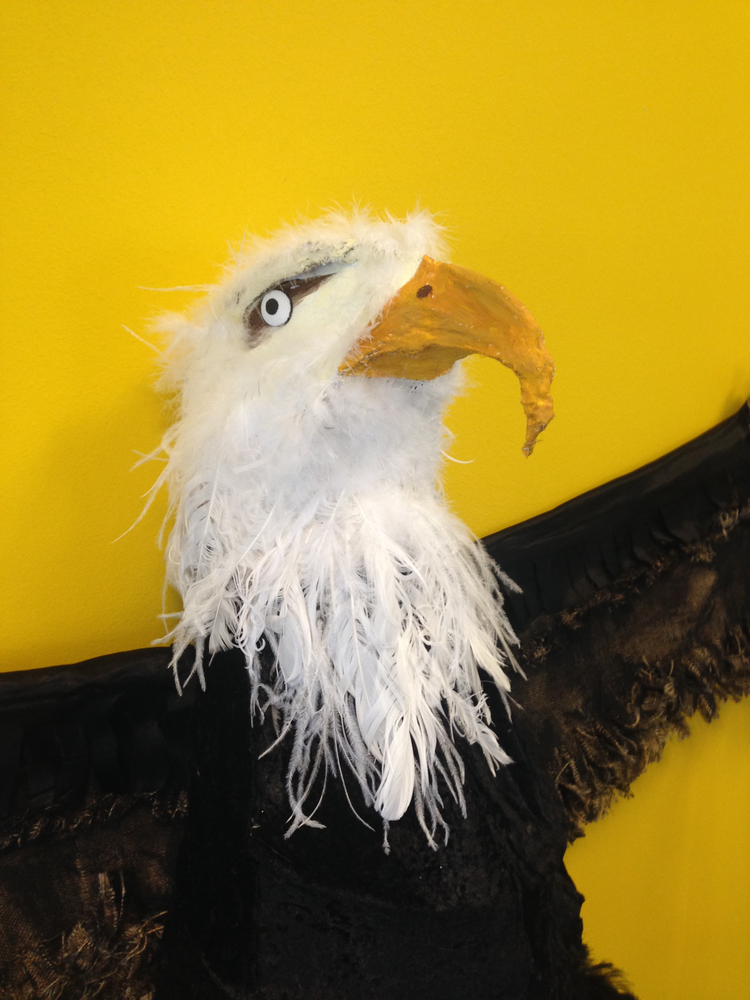 Eagle made by Scott Thompson and Jan-Alice Merry
