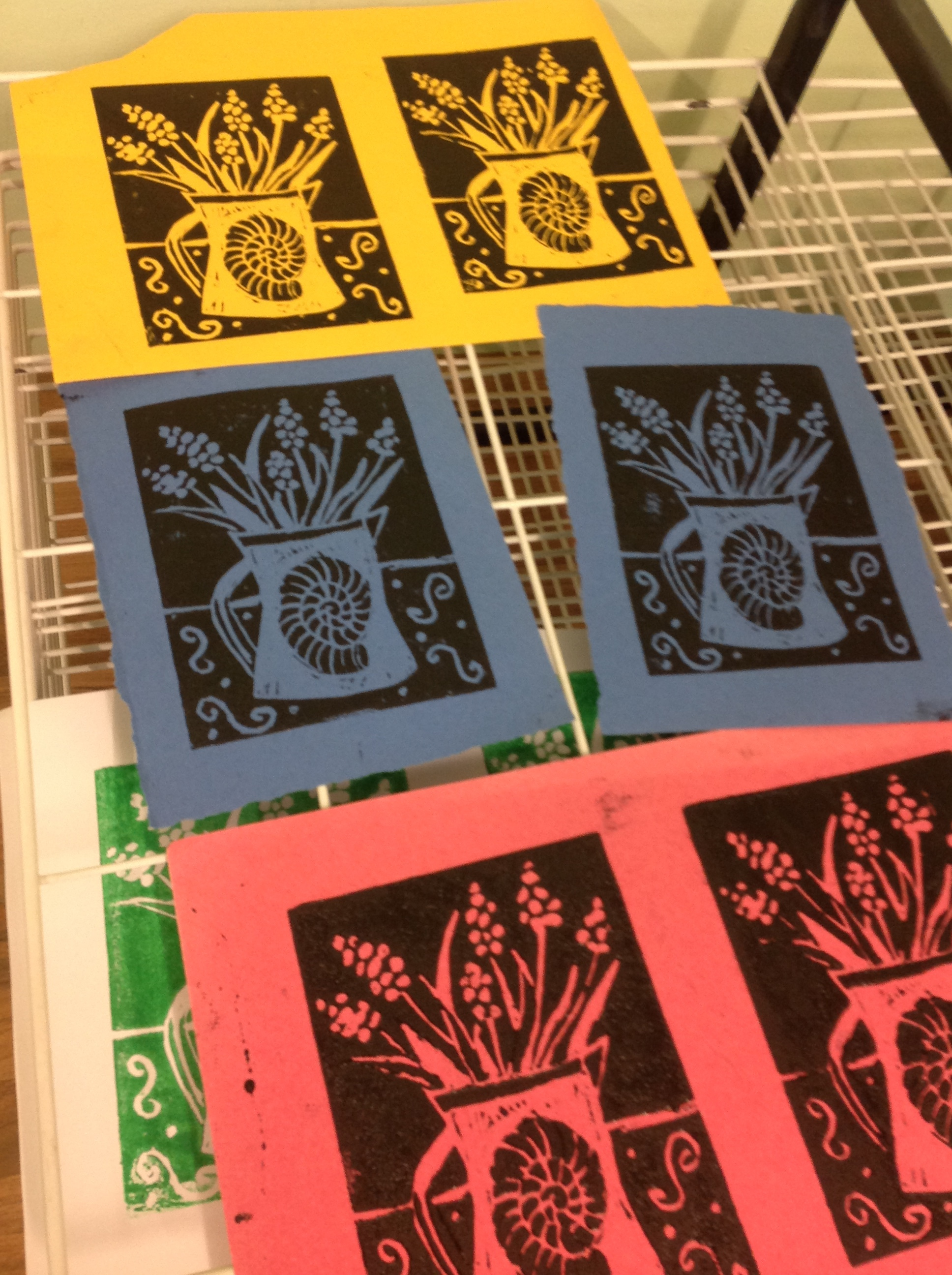 Lino Printing for Beginners & Improvers - Two dates to choose from:SATURDAY 16th March and/ or SATURDAY 4th May 2019