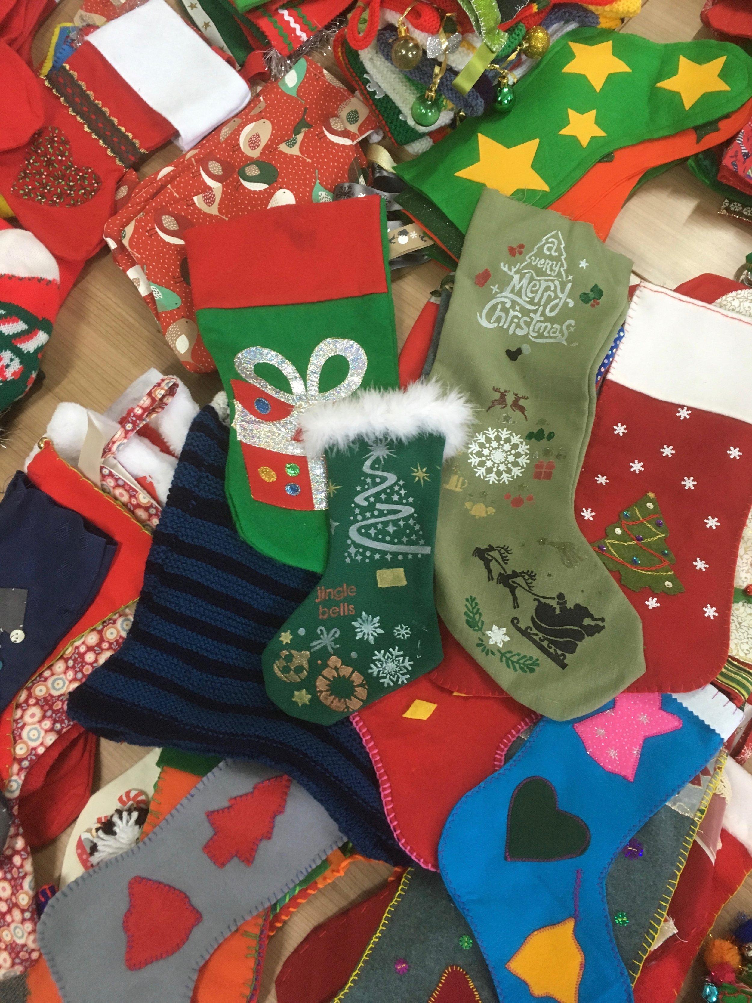 Santa's Socks - (York Learning) Community Craft Project 2018