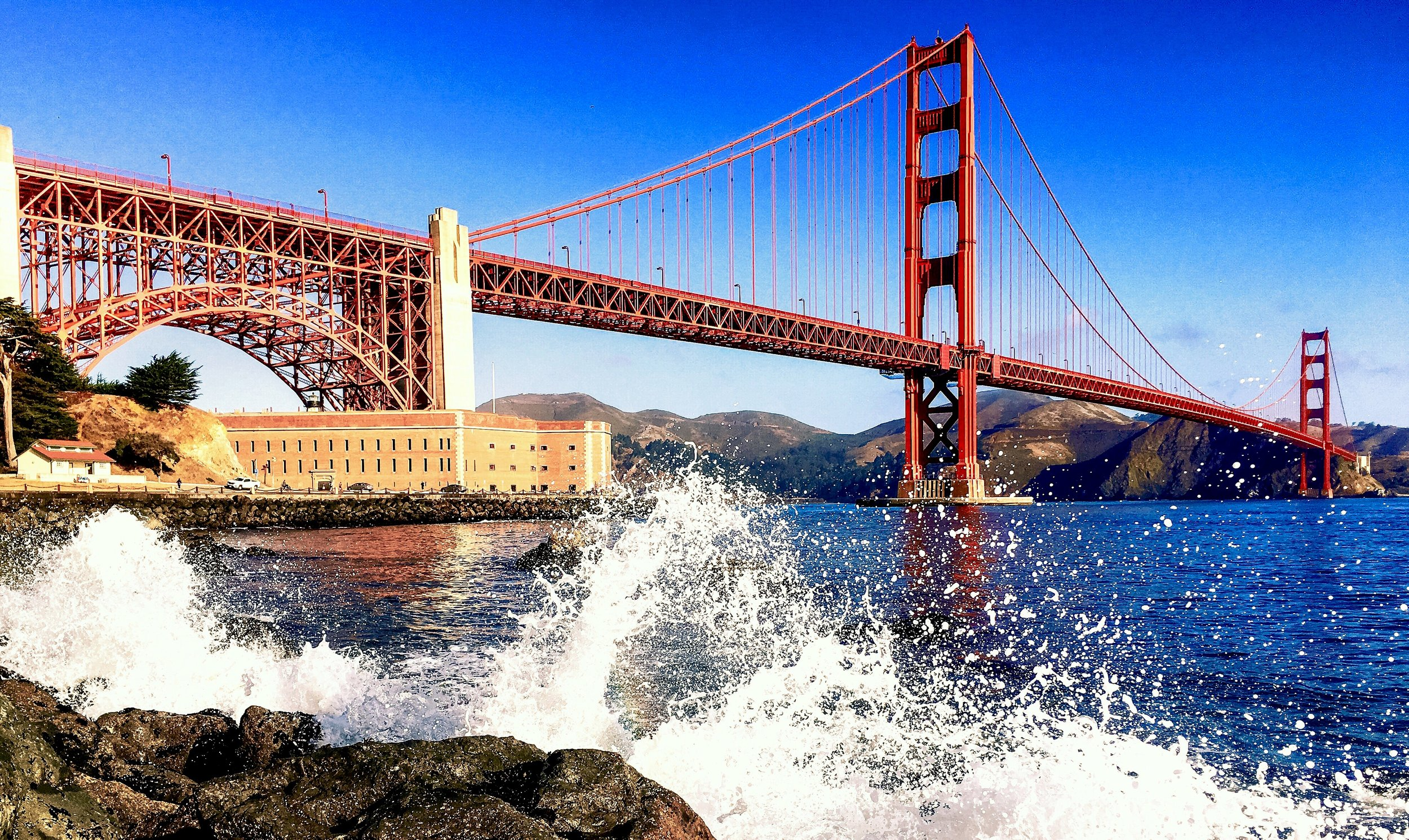 THE GOLDEN GATE BRIDGE - SAN FRANCISCO -USA