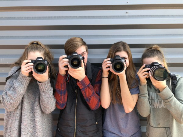 The Photojournalism Team of 2017-2018.