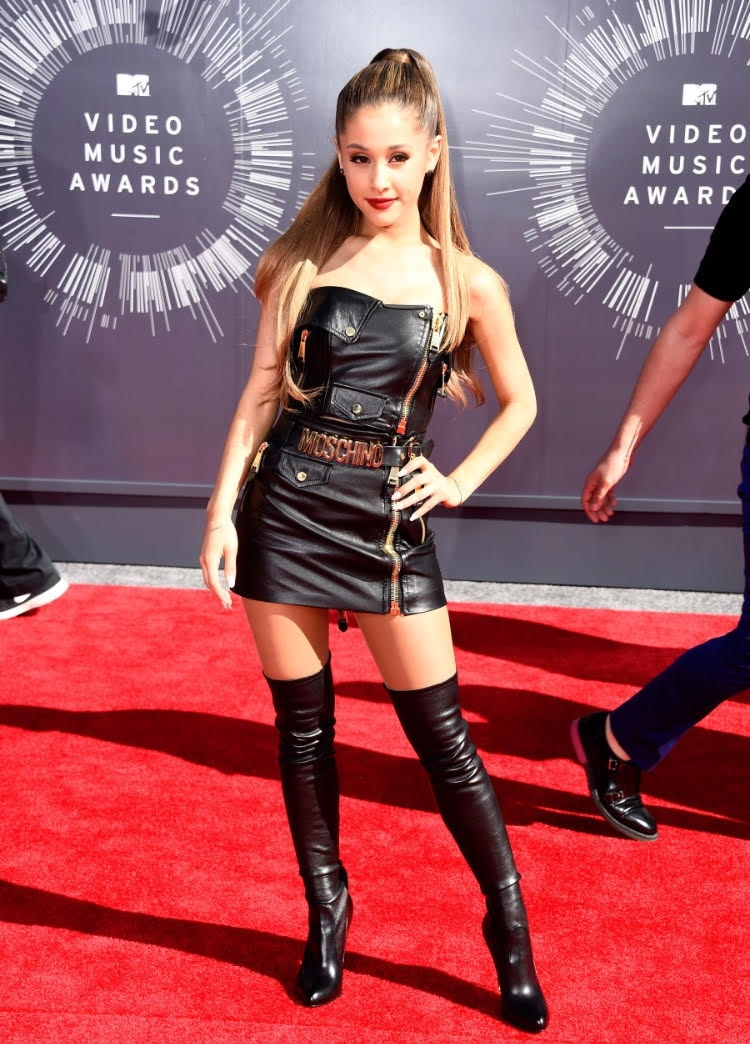 Ariana Grande attends MTV VMAs awards