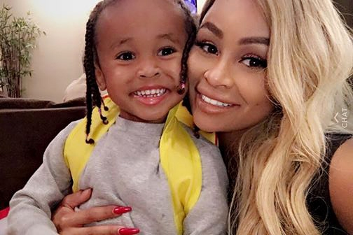 Picture taken from Blac Chyna snapchat