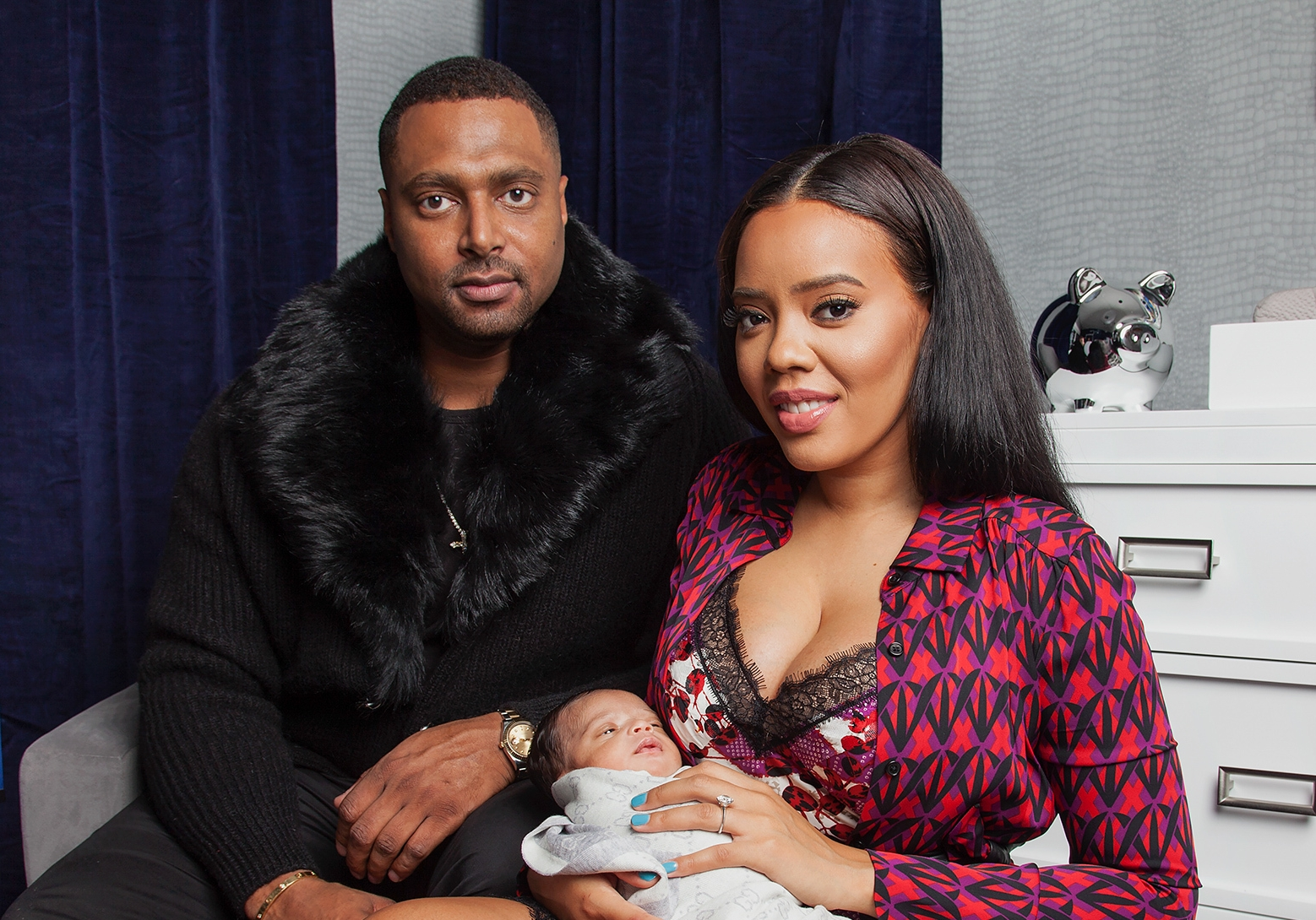 Taken by photographer Chris Veith of Angela Simmons for People Magazine