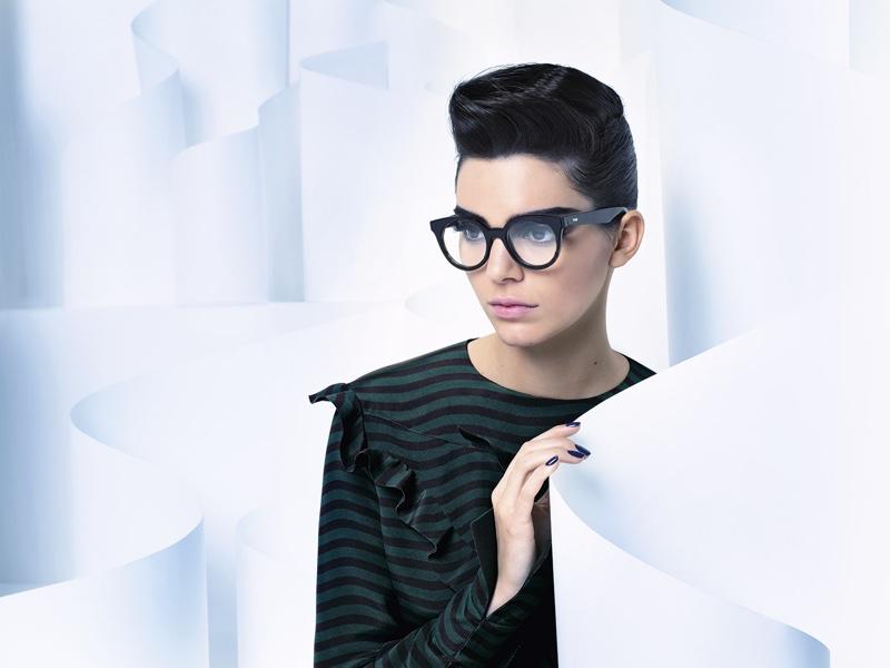 Kendall for Fendi taken by Karl Lagerfeld source: teenvouge.com
