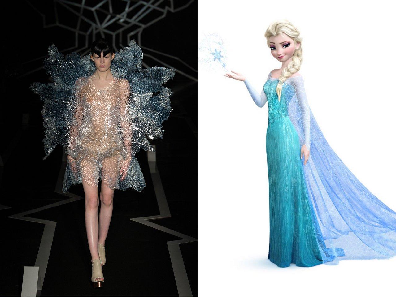 Photo taken from (left photo) Indigital.tv; Photo: Courtesy of Walt Disney Pictures