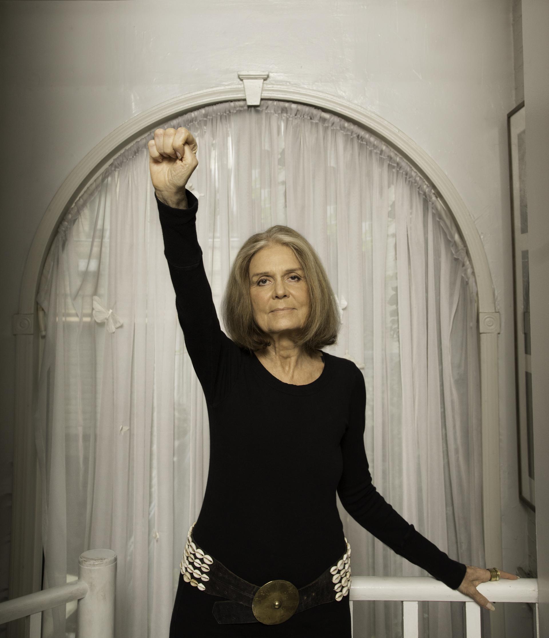 Photo taken from Instagram of Gloria Steinem