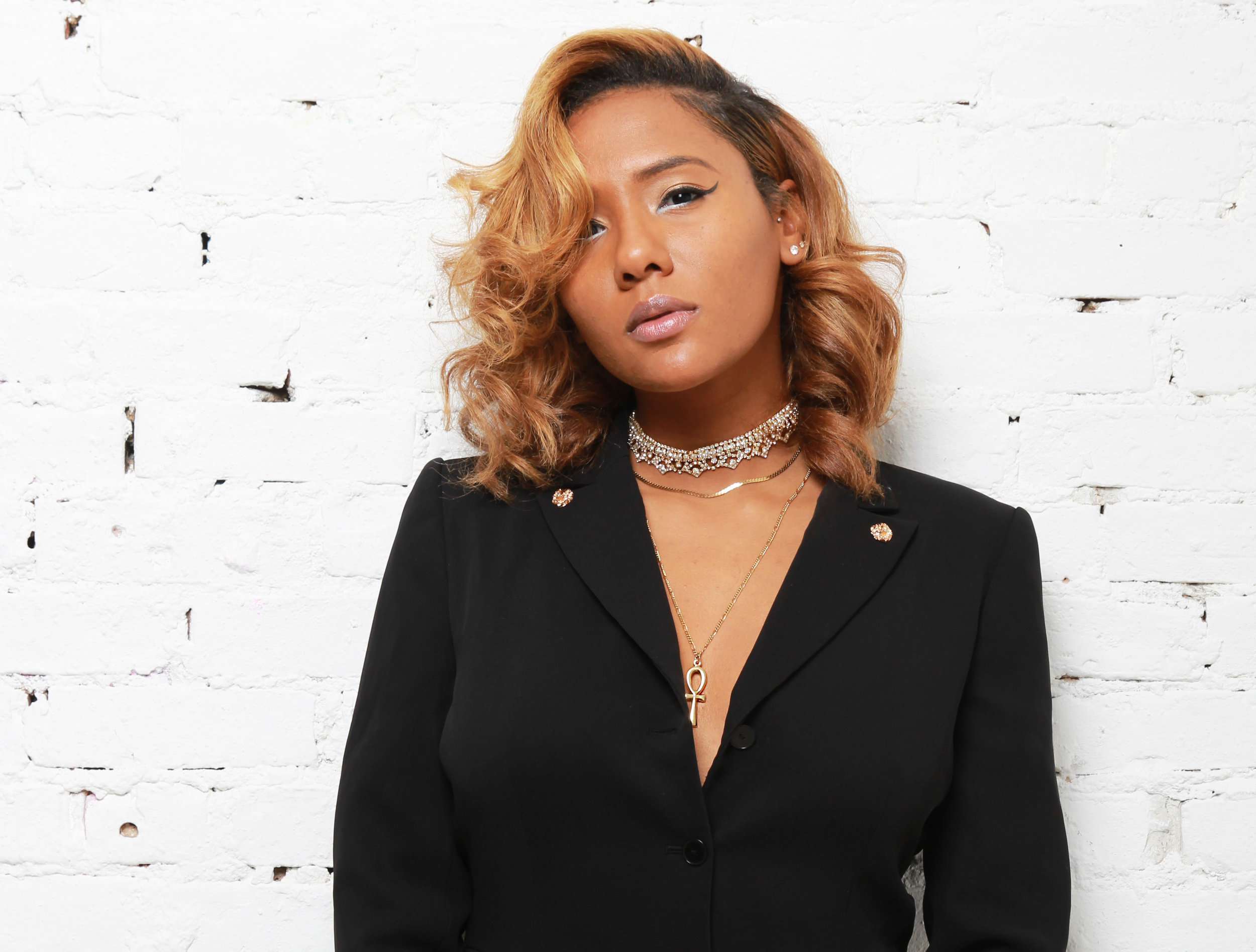 Tatiana Ilia   Founder of her own jewelry accessory line,  Iila , Tatiana Ilia designs costume to fine jewelry herself. Wearing her jewelry will have you feeling beautiful, empowered, and stylish!  Click on her name or her photo to read more!