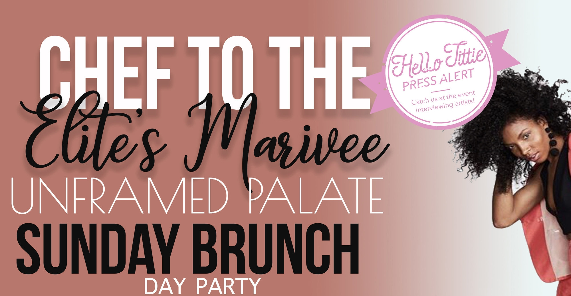 Get to Know Chef Marivee - Hellotittie got a chance to speak with Talib Kweli's personal chef — Chef Marivee at her brunch party earlier this month! Read about her passion for cooking, along with some tips on how to eat clean.