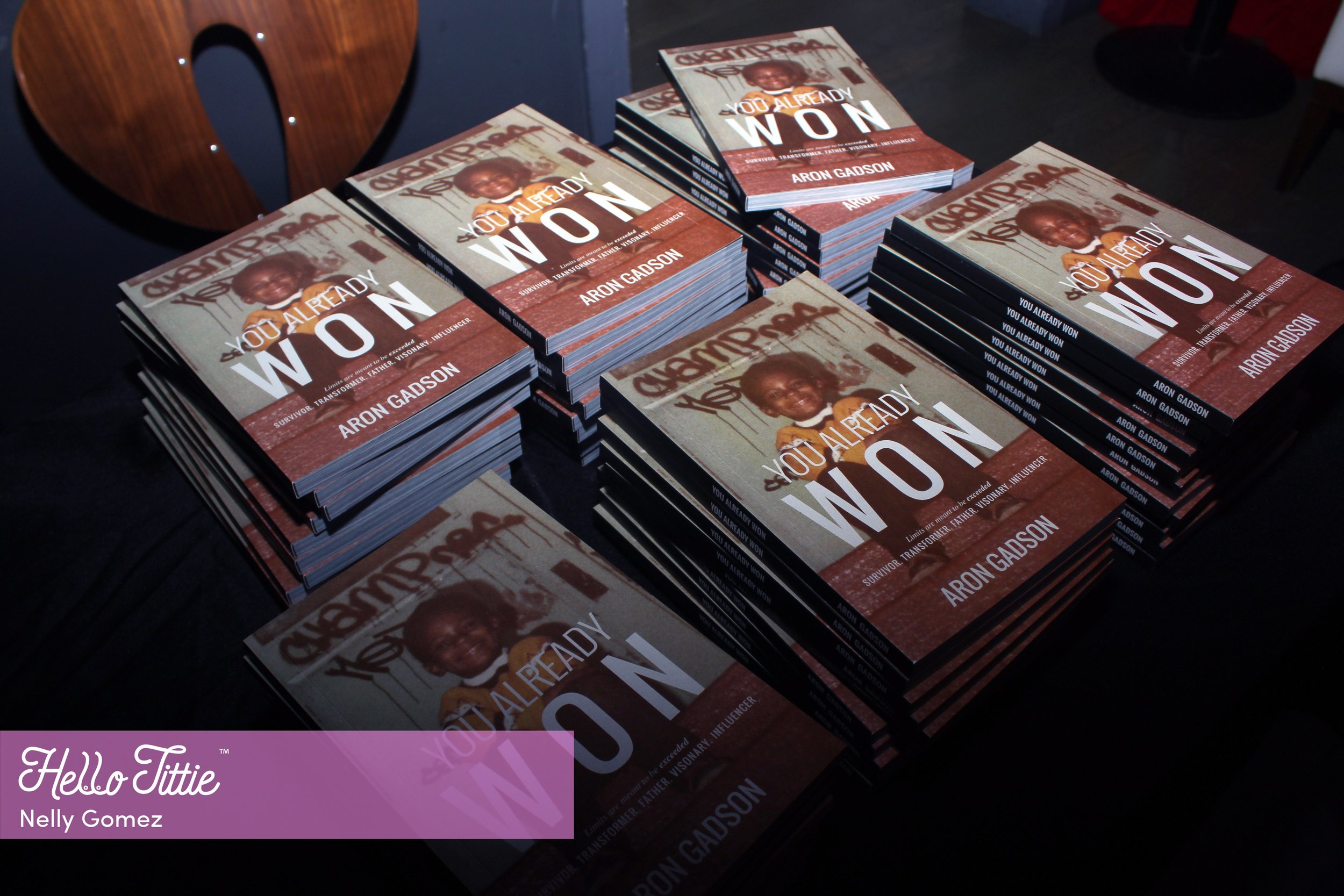 You Already Won: Author Aron Gadson and Host Yandy Smith - Book Release